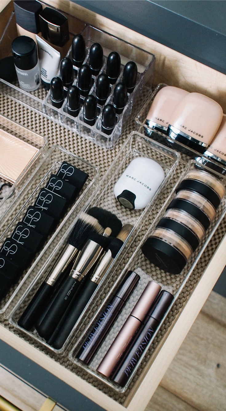 How I Organize My Makeup Drawers images