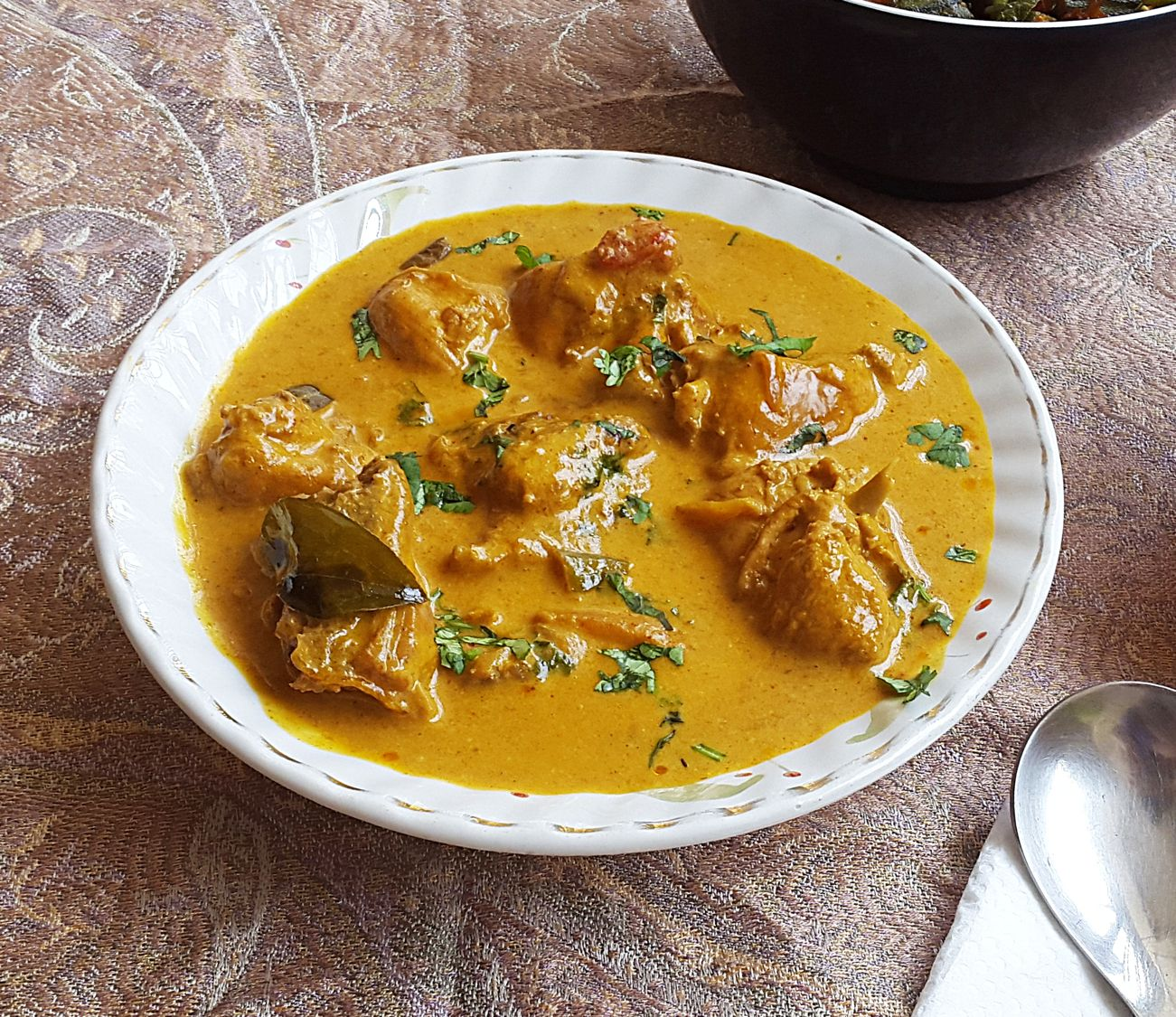 Chicken With Coconut Milk And Spices Recipe Curry Recipes