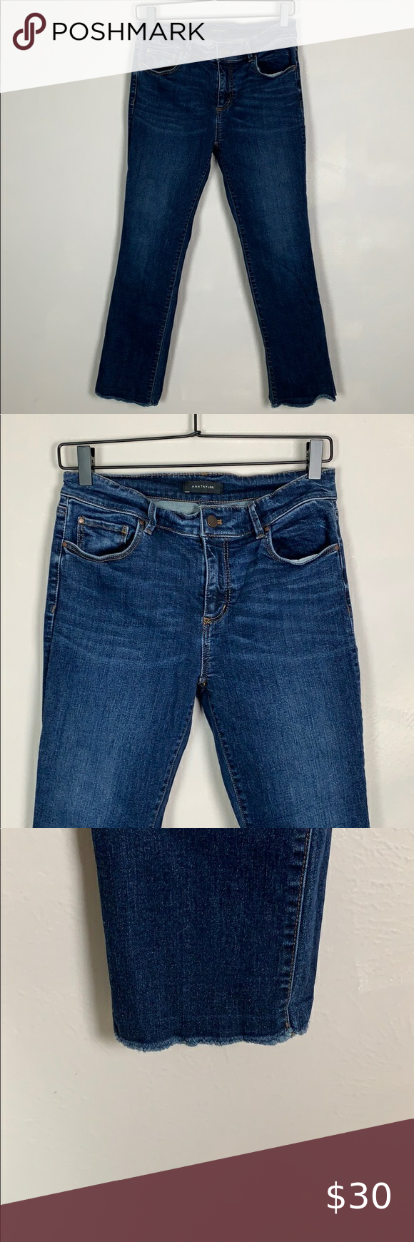 Ann Taylor Cropped Modern Fit Jeans In 2020 Jeans Fit Clothes Design Modern Fit