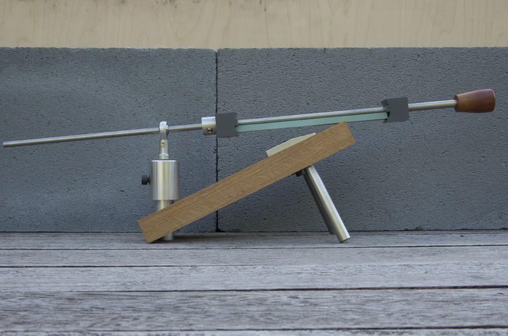 Diy sharpening jig blade sharpening systems pinterest