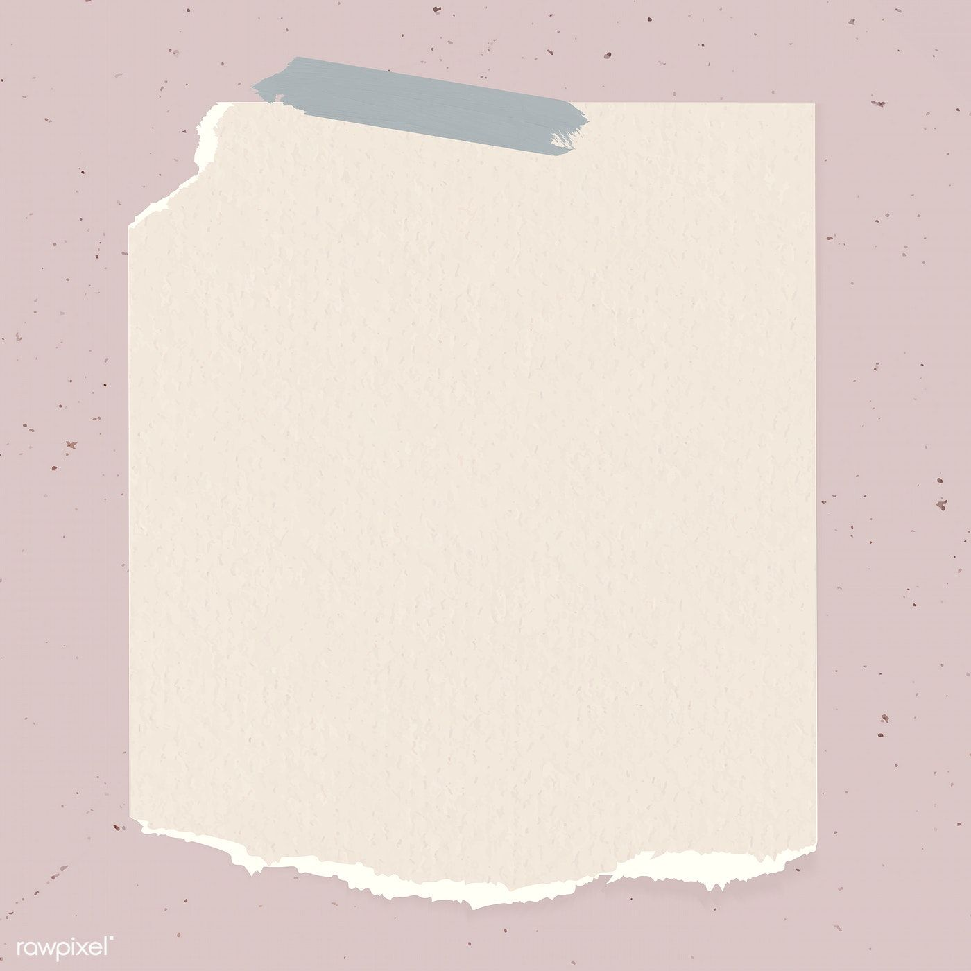 Ripped Paper Note Template Vector Free Image By Rawpixel Com Marinemynt Note Paper Notes Template Powerpoint Background Design