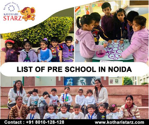Kothari Starz is a rundown of play schools in Noida,It is a learning place for your small kid where youth instruction can be built up. We give the best workforce and, best condition for kids.