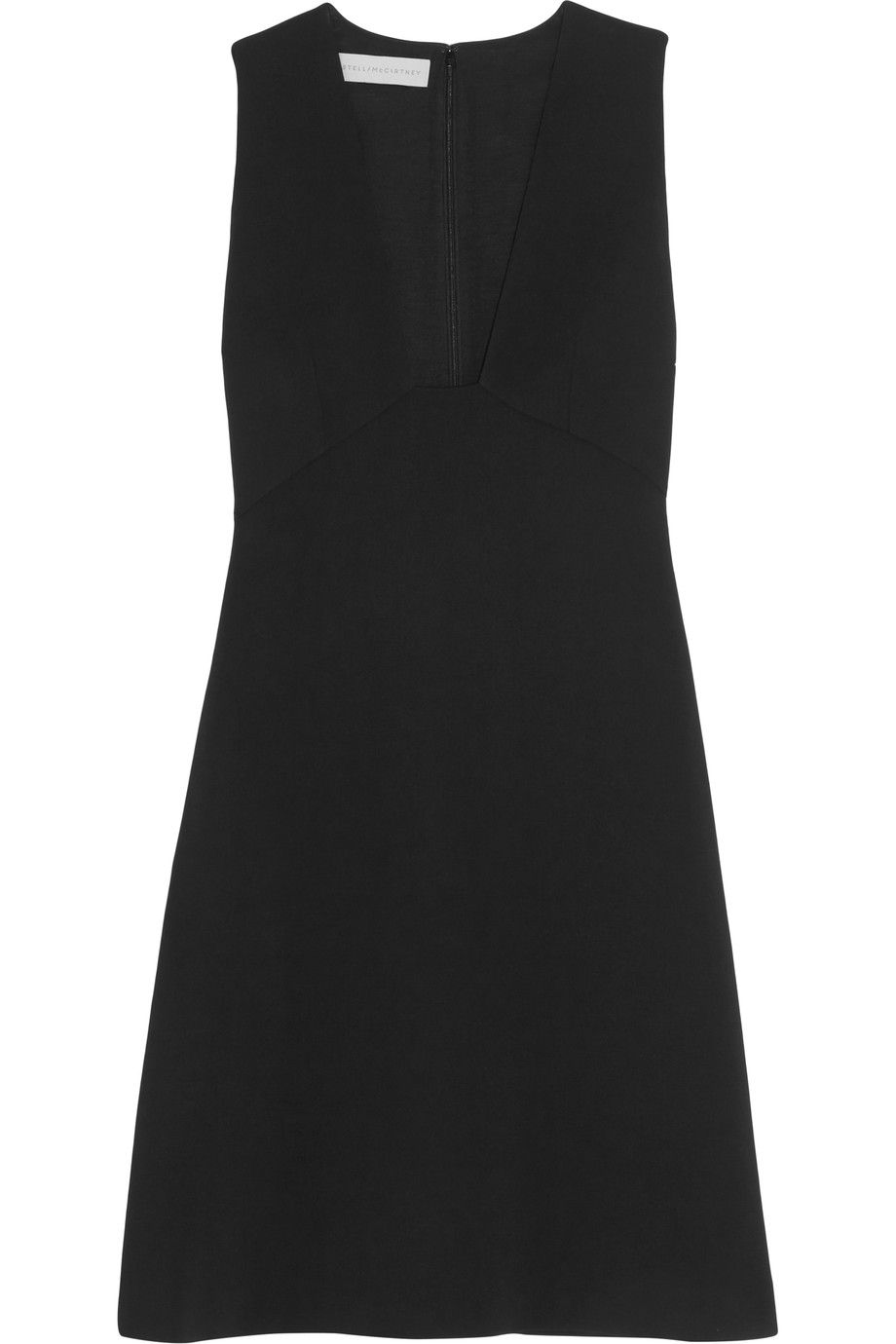 Sleeveless crêpe dress Stella McCartney Clearance Big Sale Huge Surprise Online Perfect Sale Online Quality Free Shipping Low Price o2D2Apr