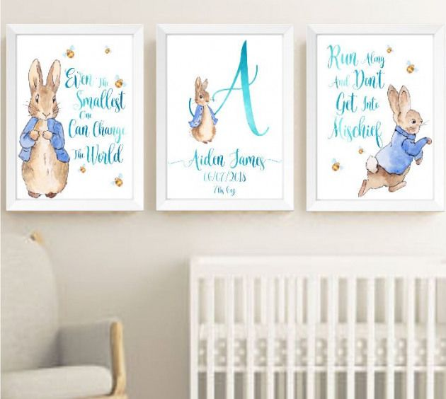 Baby Boy Peter Rabbit Beatrix Potter