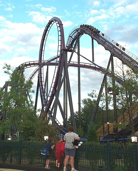 Batman The Dark Knight Photo From Six Flags New England Six