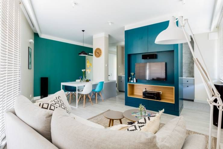 7 Cool Apartments With Nordic Flair Furniture Placement Home Apartment Design