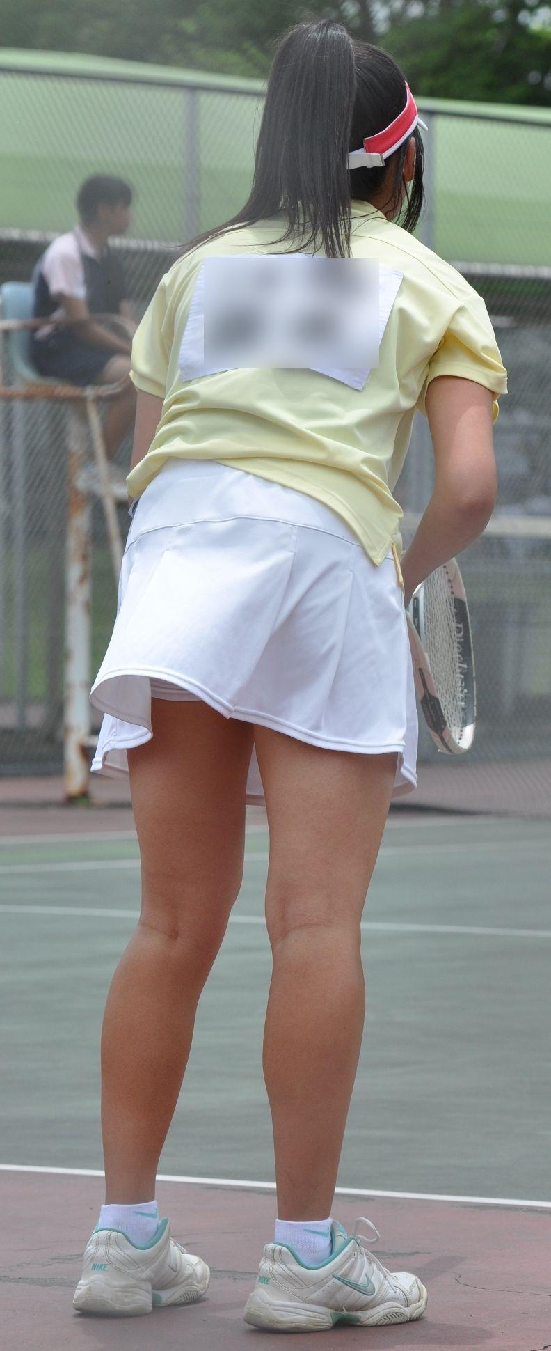 スカートの中 テニス エロアニメ