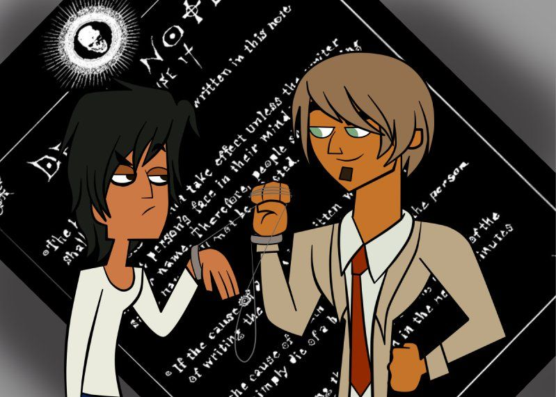 death note - total drama style Total Drama Pinterest Death note - death note