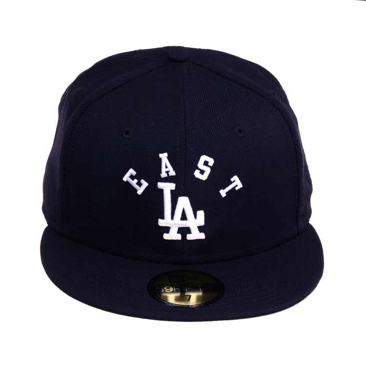 Exclusive 59fifty Los Angeles Dodgers East La Arch Hat Navy White 40 00 Hats East La Fitted Hats