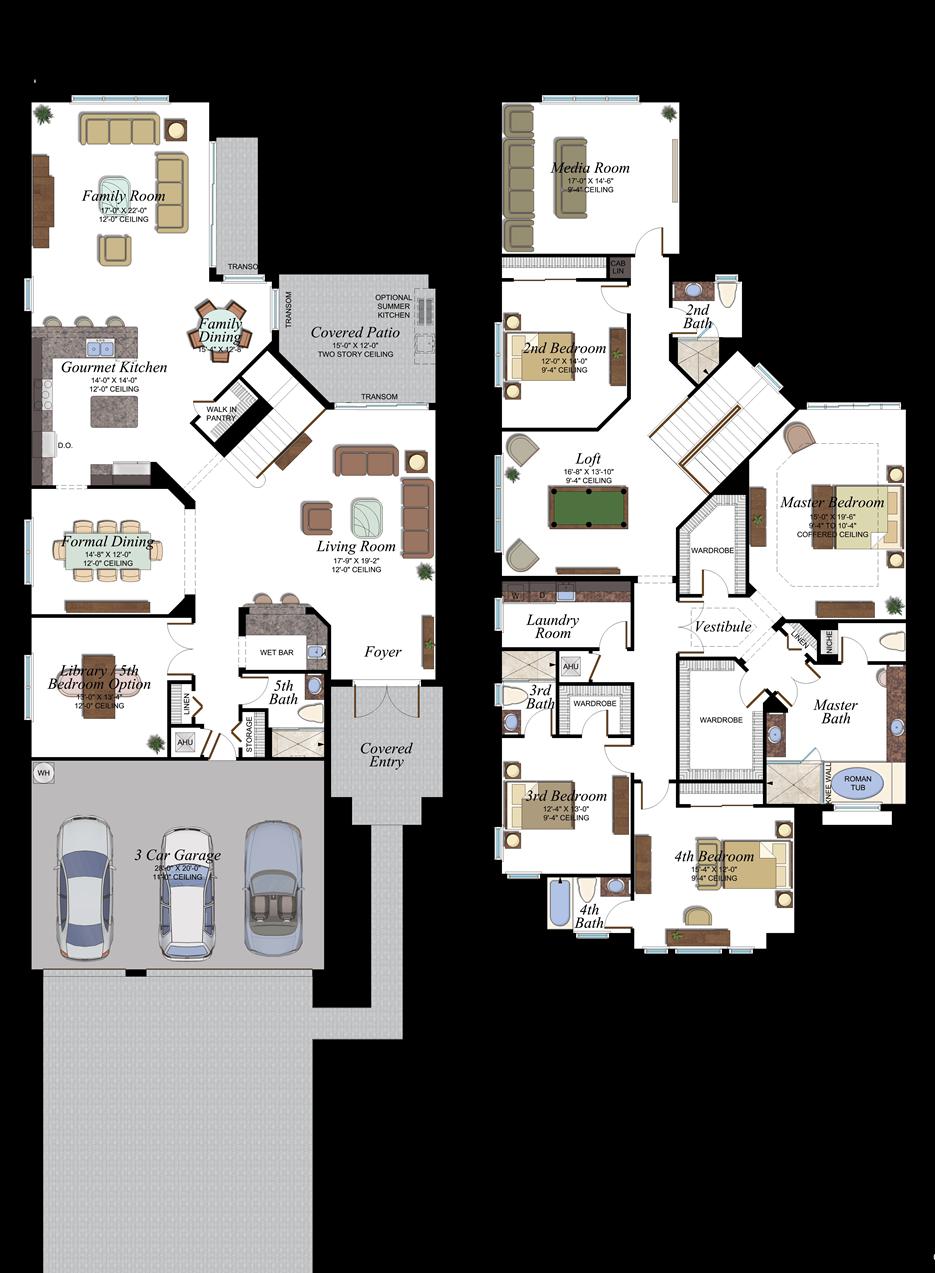 Newport 505 Floor Plan Mansion Floor Plan House Plans Farmhouse Dream House Plans