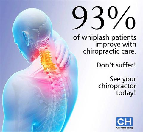 93 Percent Of Whiplash Patients Cured With Chiropractic Whiplash Injury Chiropractic Care Chiropractic