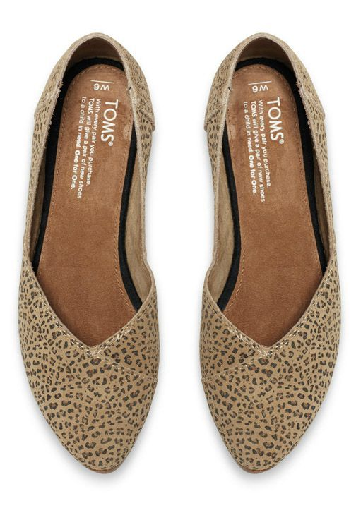 eebf8d21fbc These flattering animal-inspired flats are easy to toss in your handbag and  are perfect for casual days that call for a dash of flair.