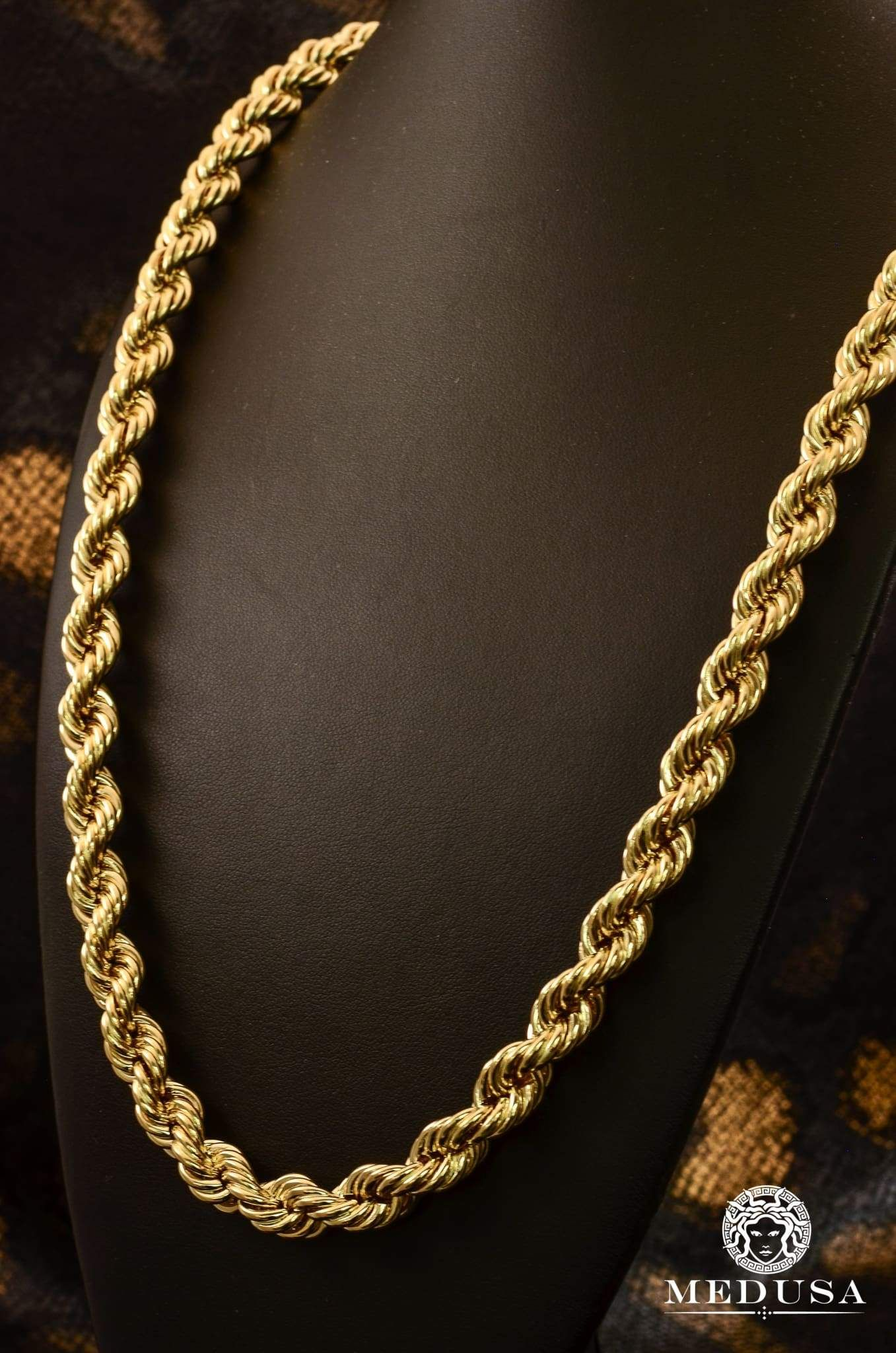 10mm Torsade Gold Necklace Designs Chunky Gold Necklaces Art Deco Jewelry Necklace
