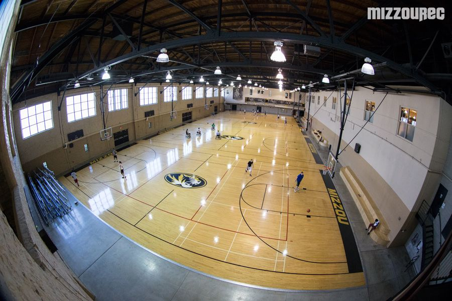 Image result for the mizzou rec Basketball court