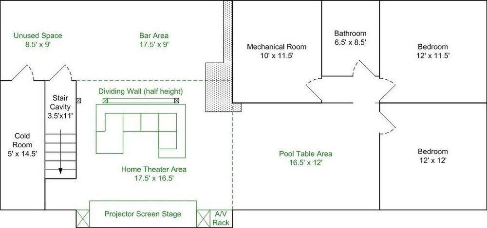 Basement Layout Design Set basement | diy basement ideas | pinterest | basement layout
