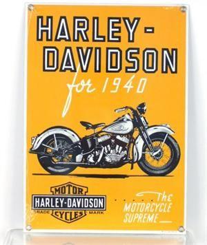 Harley Davidson Vintage Style 1920s Motorcycle Cruising Poster 20x28 Harley Davidson Posters Vintage Motorcycle Posters Harley Davidson Art