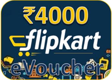 Flipkart e-Gift Vouchers Rs.250 Free on Rs. 4000 Offer - Best Online Offer