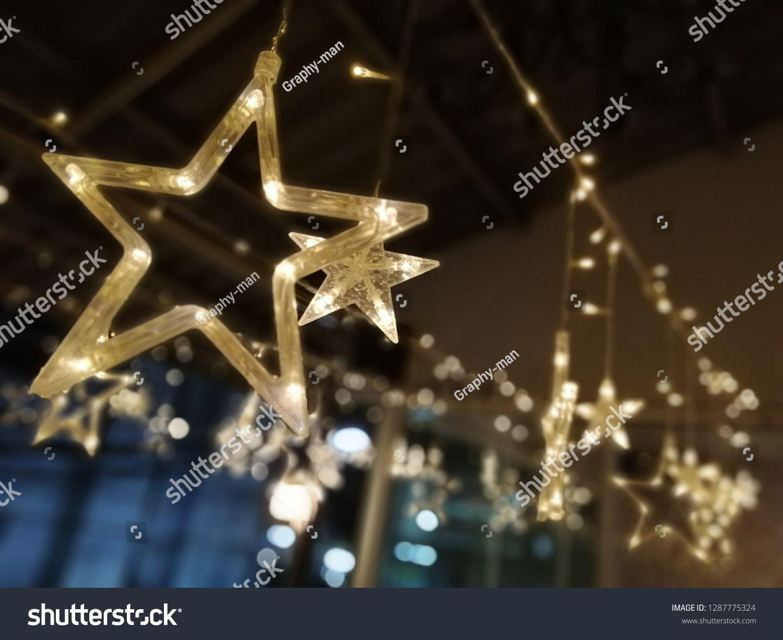Beautiful Star Shaped Night Lights Ad