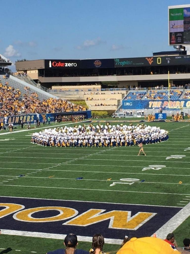 Mountaineer Field Interactive Seating Chart intended for