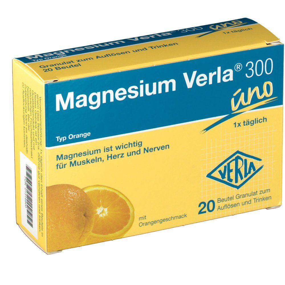 Magnesium Verla 300 Uno Orange In 2020 Magnesium Orange Muskeln
