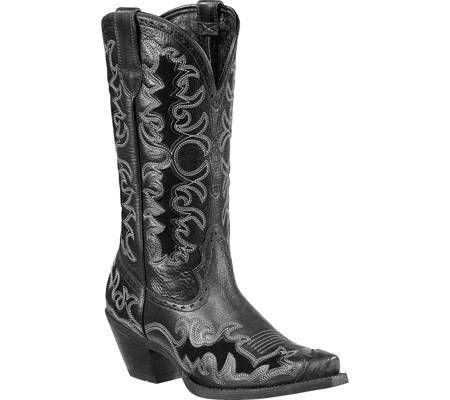 #Ariat - Dandy (Women's) - Black Deertan Full Grain Leather