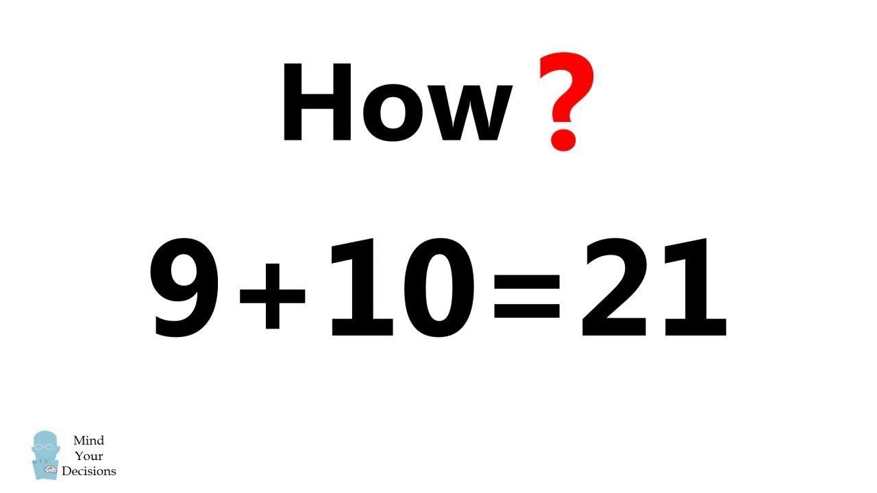 9 10 21 How Math Genius Mental Math Tricks Math Videos