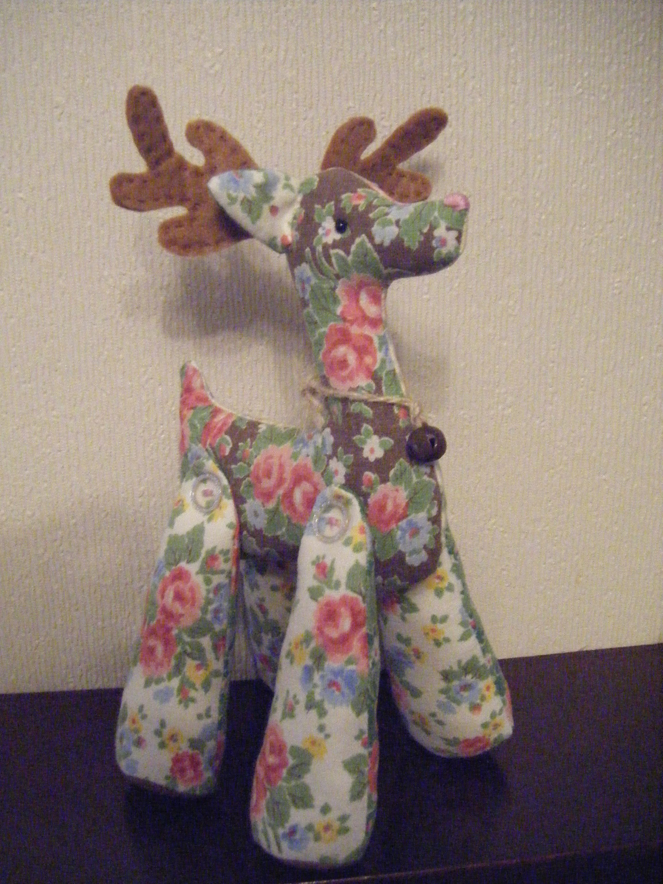 Tilda Reindeer Pattern From Dec Crafts Beautiful Mag Handmade