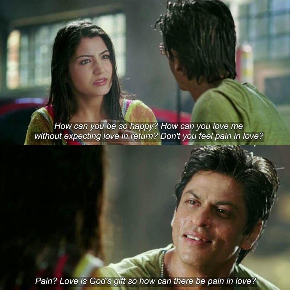 Ae Dil Hai Mushkil Shahrukh Khan Dialogue In English Srk Universe On Twitter Bollywood Quotes Srk Movies Bollywood Memes