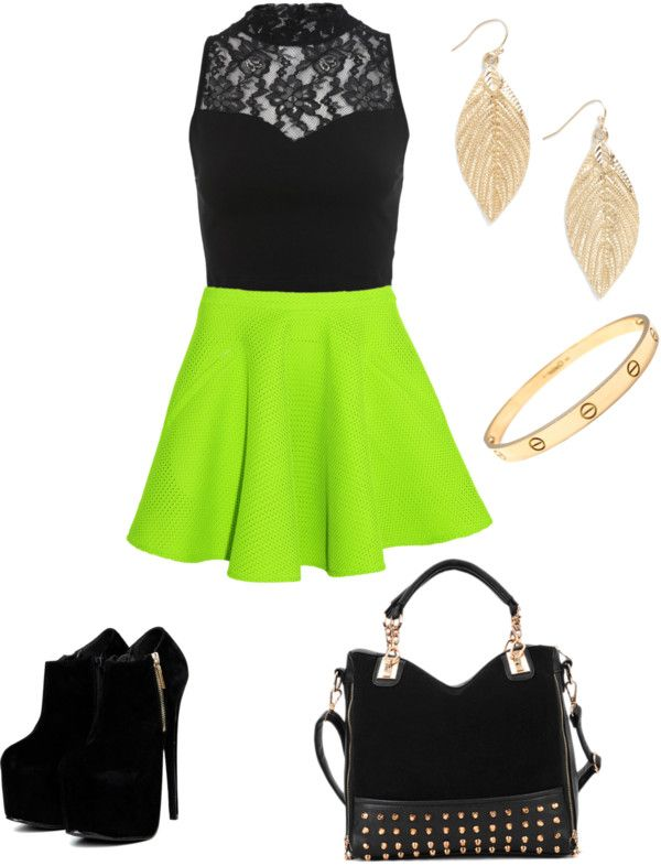"""""""a night out"""" by jakareya-shaooa ❤ liked on Polyvore"""