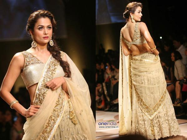 Try These Indian Hairstyles With Lehenga
