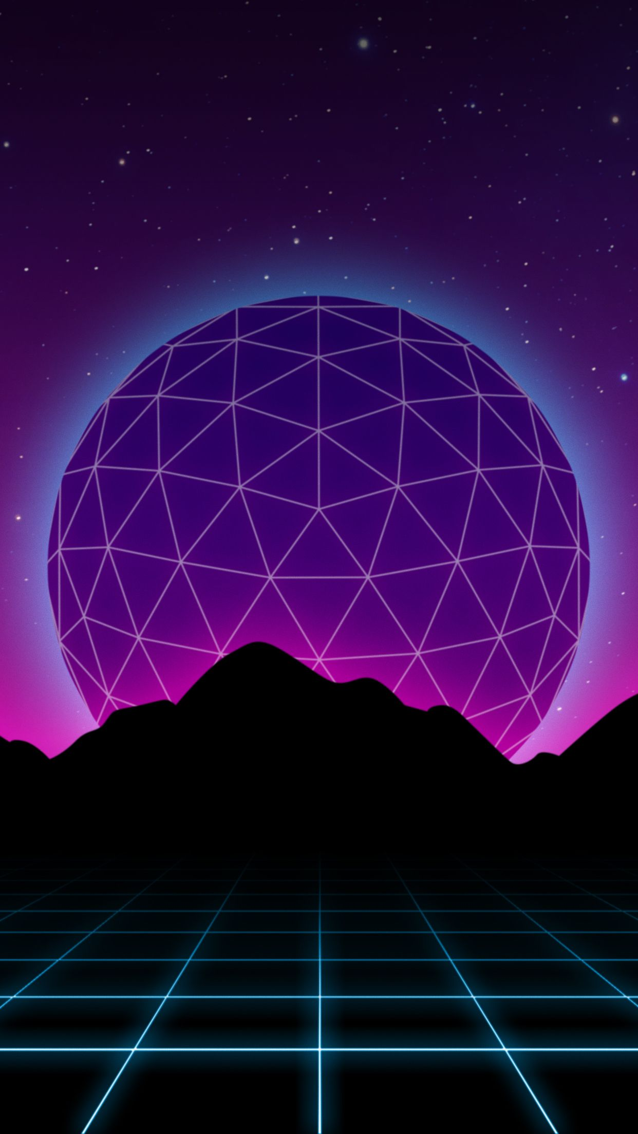 Wallpaper Background Synthwave Retrowave 1242x2208 9 16 Vaporwave Wallpaper Synthwave Retro Futurism