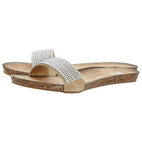 ad199d20a17 DUNE LADIES JASYZ - Gold T-Bar Toe Post Sandal by Dune London ...
