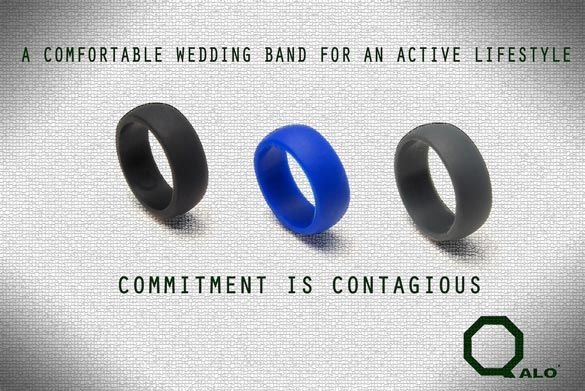 Qalo Ring A Solution For Working Out With A Wedding Band Active Wedding Ring Wedding Bands Qalo Ring