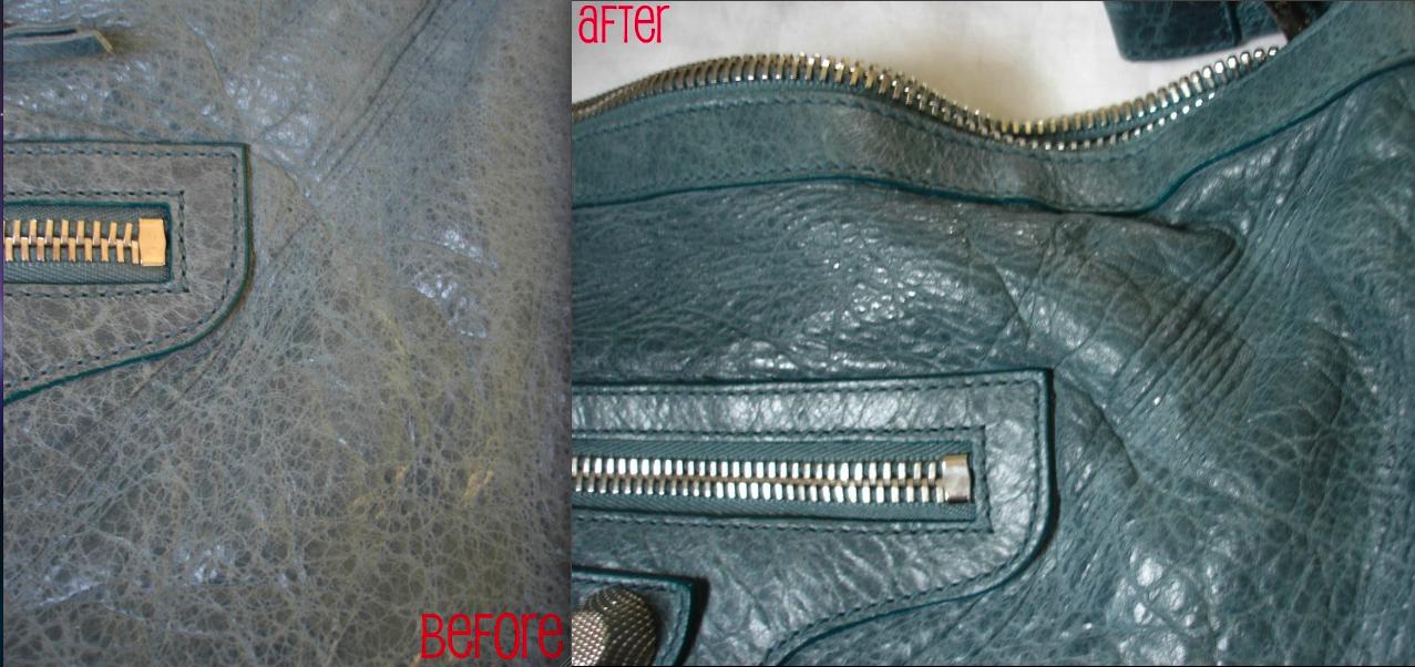Balenciaga handbag treated with Leather Honey. www.leatherhoney.com ... b930c0a83e