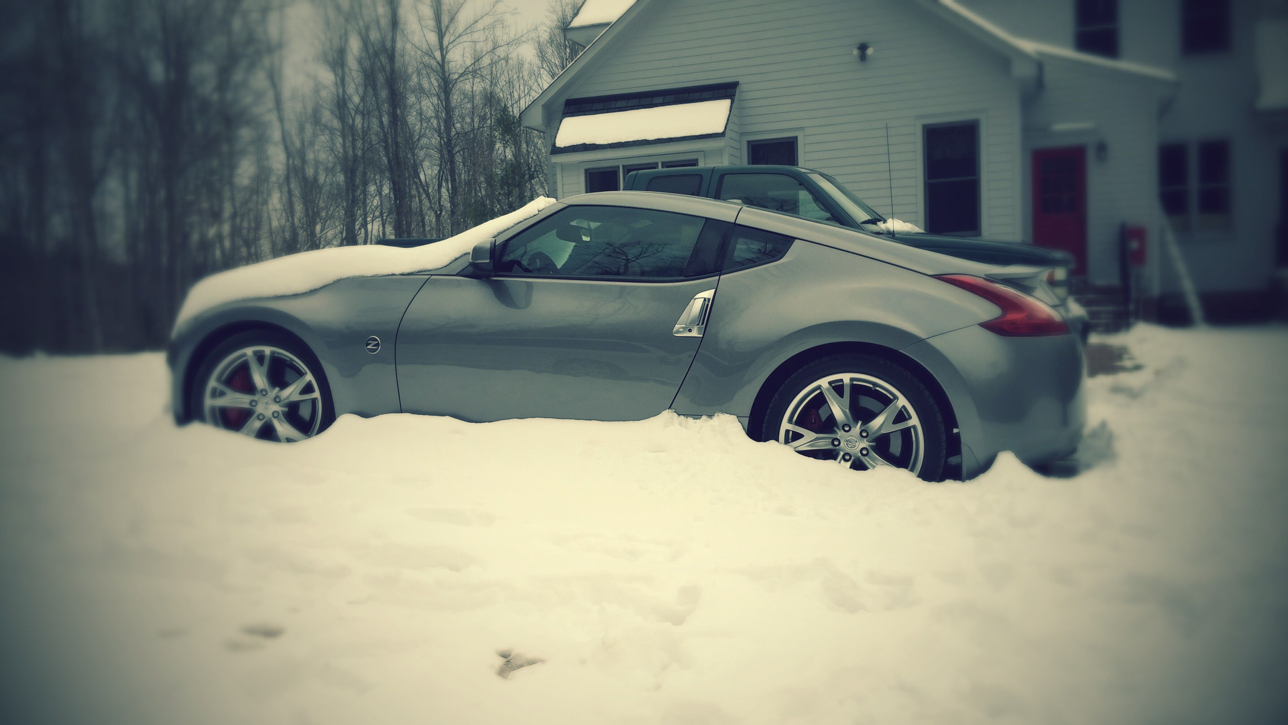 Old Man Winter is hard on my Z!