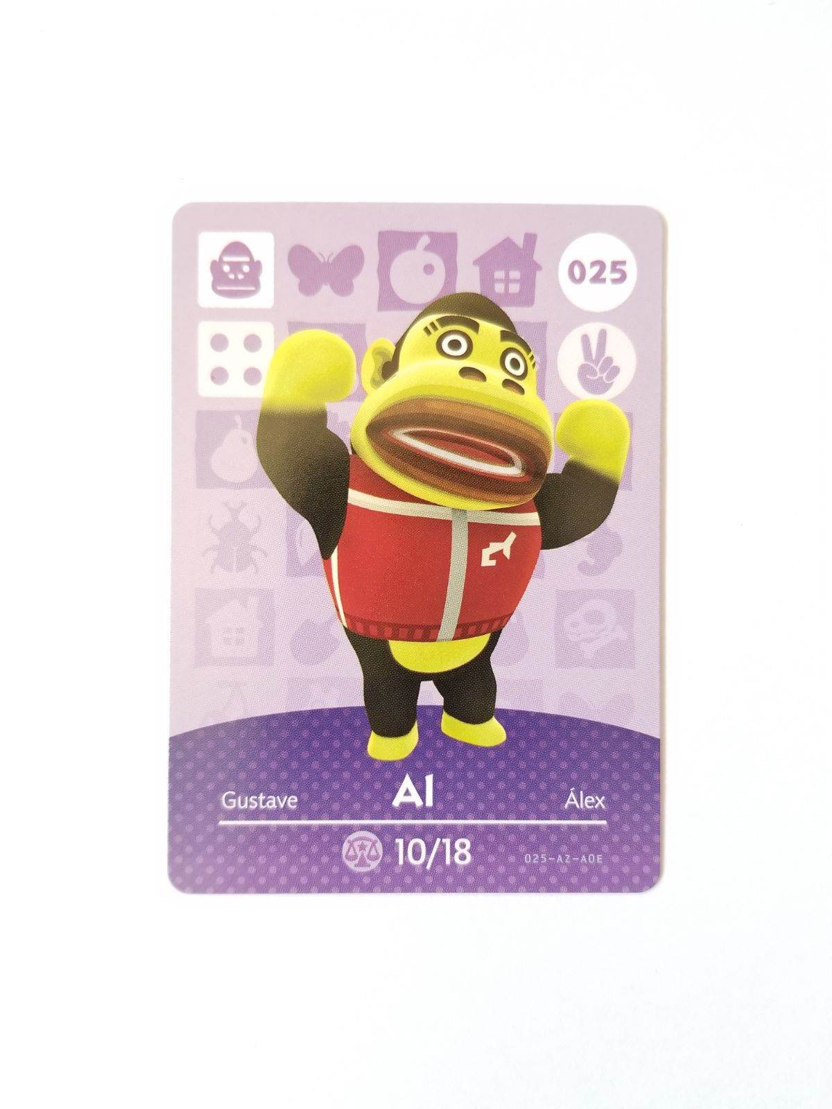 Animal Crossing Amiibo Card Al 25 Mercari in 2020