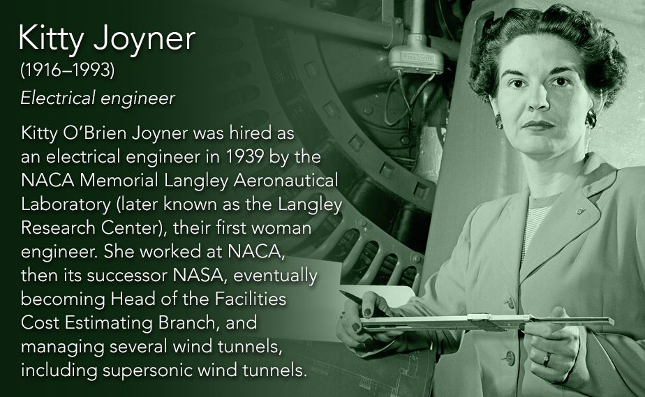 Kitty Joyner19161993 Electrical Engineer Kitty Obrien Joyner Was