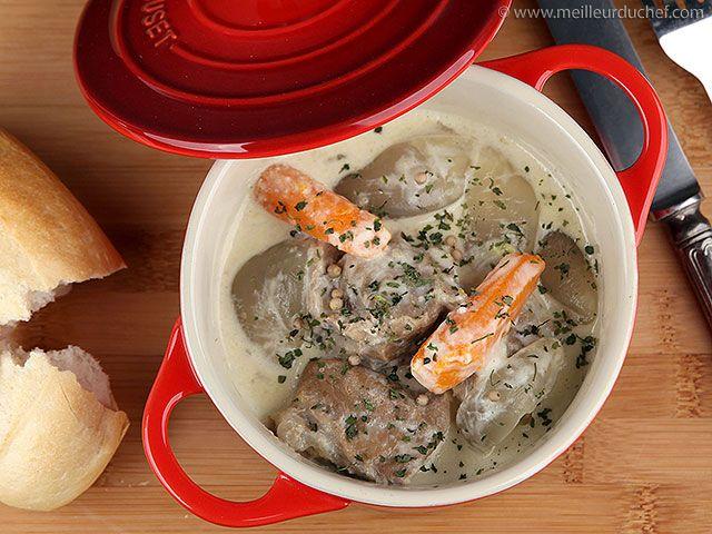 Blanquette de veau à l\u0027ancienne Recipe Quiches and Meat - cuisine a l ancienne