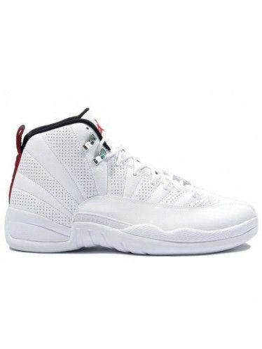 8e7990713d1 130690 163 Nike Air Jordan 12 Retro Anniversary White   Red   Black ...
