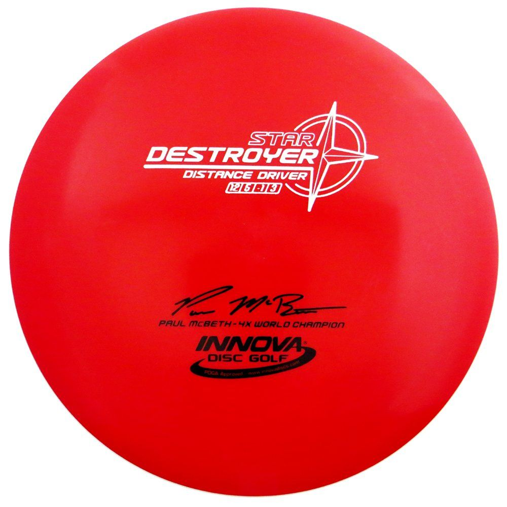 Innova Star Destroyer Disc Golf Paul Mcbeth Distance Driver 165 170g Disc Golf Star Destroyer Best Disc Golf Discs