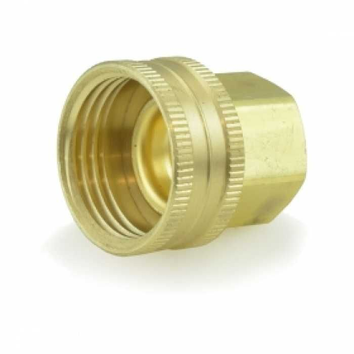 3 4 Fgh X 1 2 Fip Swivel Brass Adapter Lead Free Swivel Lead Free Thread Adapter