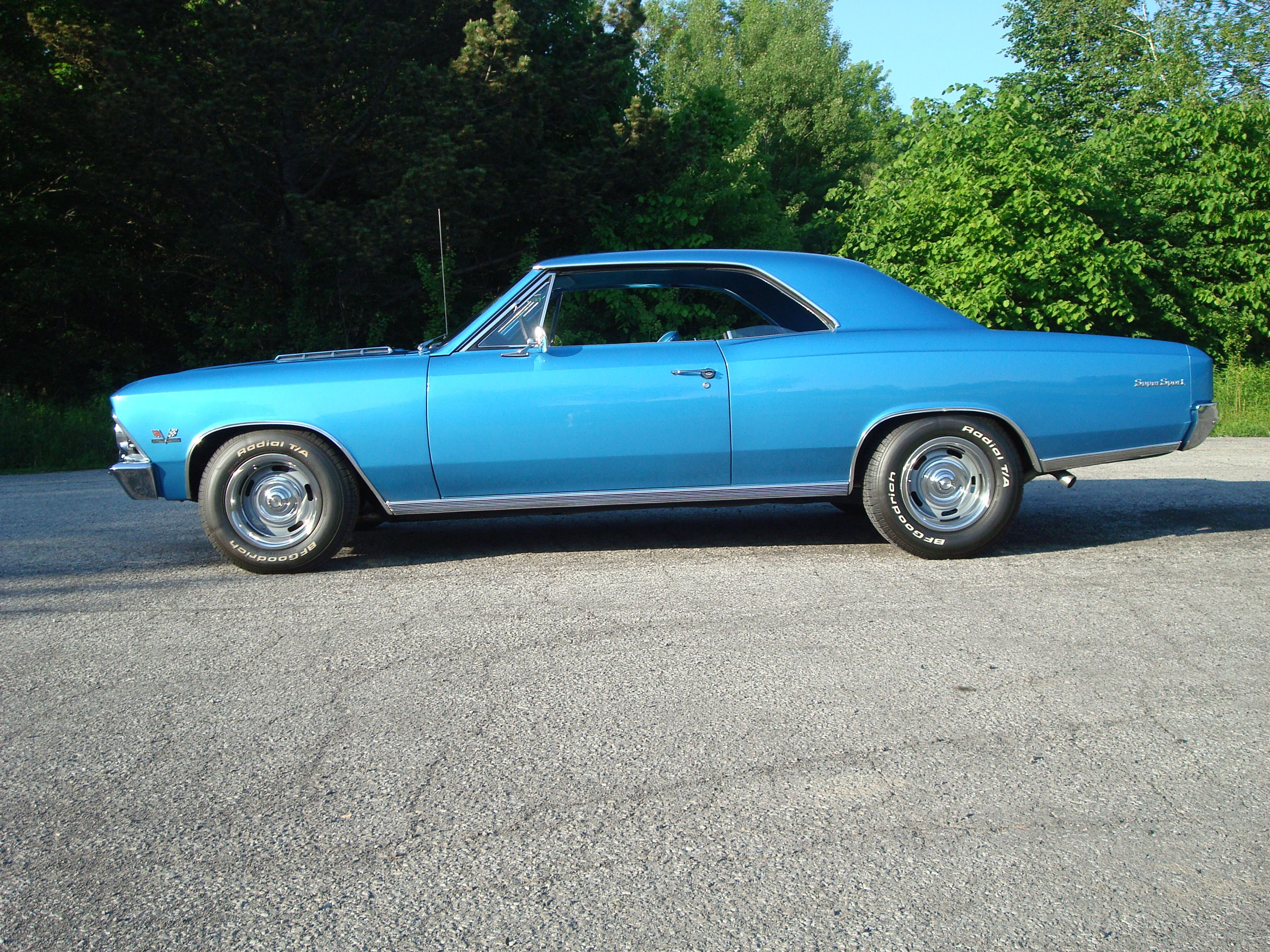1966 Chevelle Ss 396 In The Perfect Color With The Muncie M21 Rock Crusher 4 Spd Manual