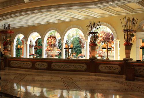 Bellagio Hotel Lobby