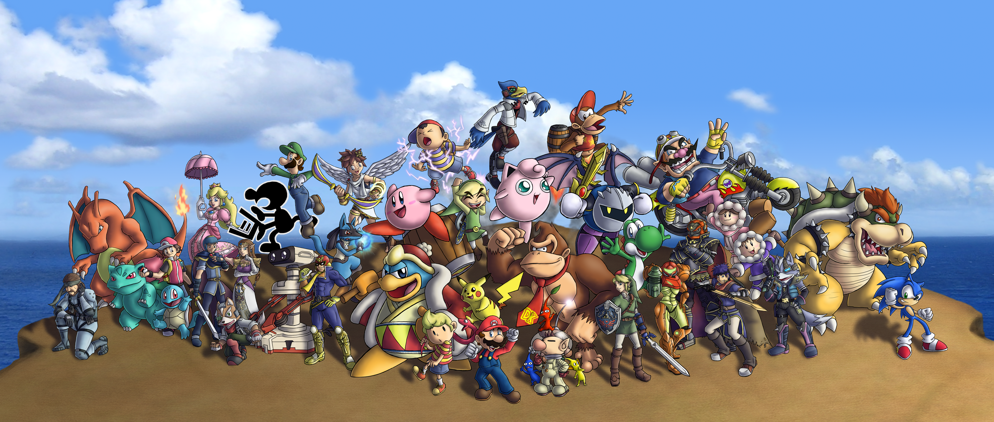 Nintendo Villains Google Search Super Smash Bros Smash Bros
