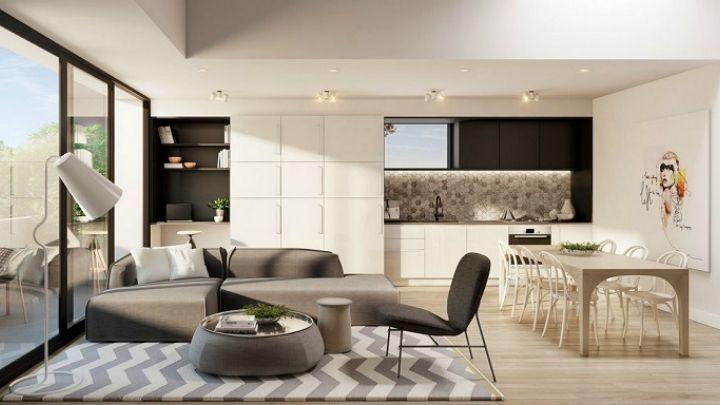 Cocina sala y comedor en un solo ambiente integrar for Comedor y cocina en un mismo ambiente