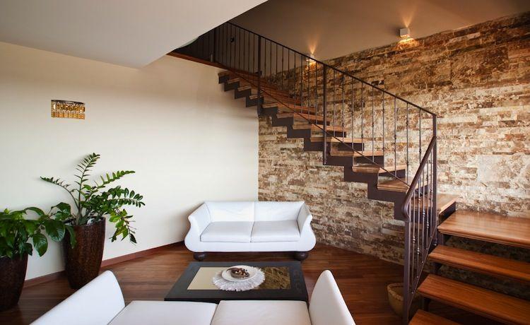 Scale in ferro e legno per interni cerca con google for Scale in marmo per interni moderne