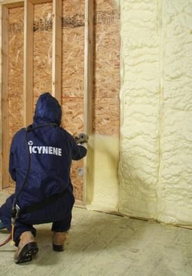 Icynene Has A New Foam With A Higher R Value Spray Foam Insulation Foam Insulation Spray Foam