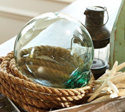 Recycled Glass Buoy | Pottery Barn
