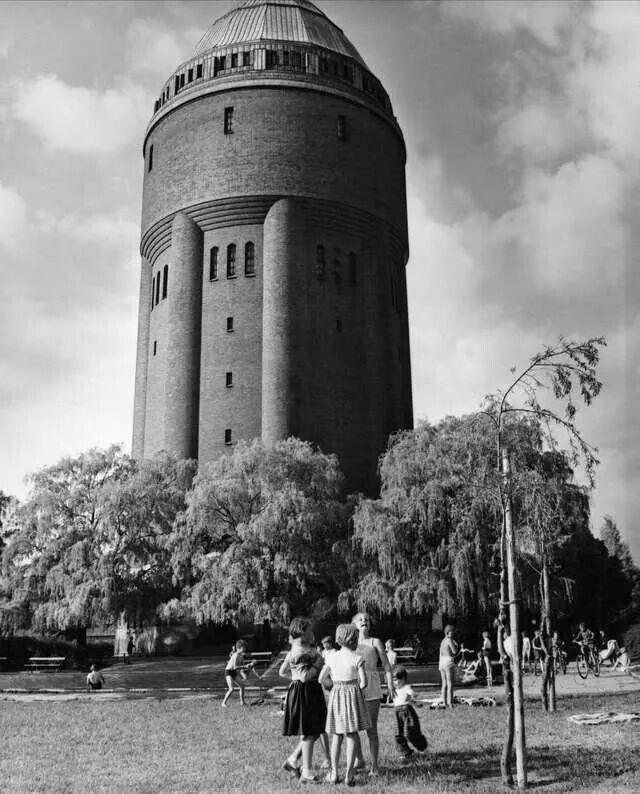 Malmo Vattentornet Vid Sodervarn My Sweden Sweden