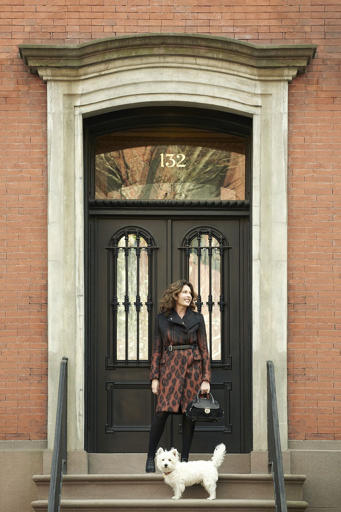 Jacqueline Beaurang at home in Manhattan. Explore her legacy at www. Ferragamo.com Fiamma dc2614a14e9ee